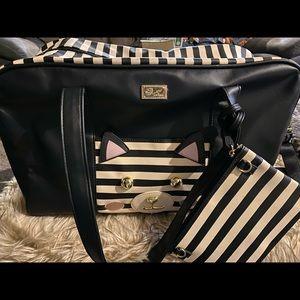 Betsy Johnson Travel bag!